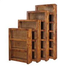 "48"" Fruitwood Bookcase"