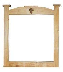 Mansion Mirror W/ Cross