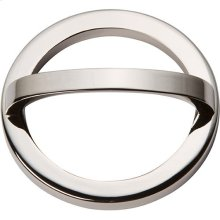 Tableau Round Base and Top 3 Inch - Polished Nickel