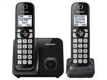 Expandable Cordless Phone with Call Block - 2 Handsets - KX-TGD512B