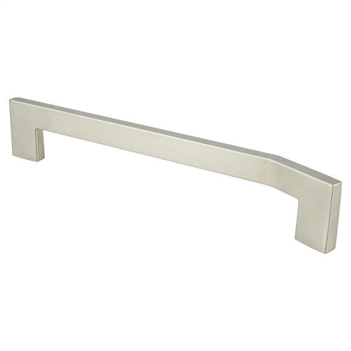 Angle 192mm CC Brushed Nickel Right Pull