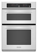 "Combination Oven 27"" Width 1.4 cu. ft. Microwave Capacity 3.8 cu. ft. Oven Capacity Microwave Convection Cooking Even-Heat™ True Convection System Product Image"