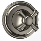 Vivian™ Three-way Diverter Trim- Cross Handle - Brushed Nickel Product Image