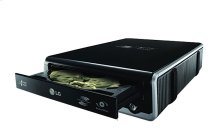 Super-Multi External 24x DVD Rewriter with SecurDisc and LightScribeTM