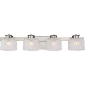 Seaview Bath Light in Brushed Nickel
