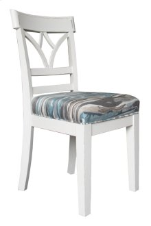 Side Chair, Available in Shabby White Finish Only.