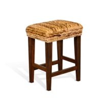"Mossy Oak Banana Leaf 24""H Stool"