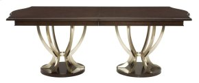 Miramont Dining Table Top and Base in Miramont Dark Sable (360)