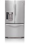 3-Door French Door Refrigerator with Ice and Water Dispenser (21 cu. ft.; Stainless Steel)