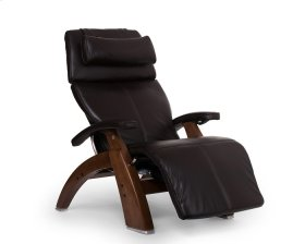 Perfect Chair PC-610 - Espresso Premium Leather - Walnut