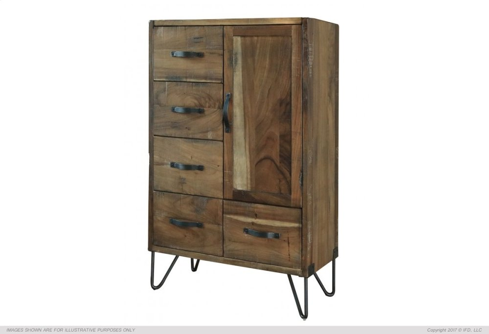 5 Drawer 1 door Chest  sc 1 st  Furniture Mattresses and Appliances in Winnemucca Elko and Fallon NV & IFD860CHEST in by International Furniture Direct in Winnemucca NV ...