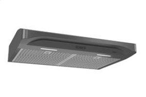 "Alta 30"" 300 CFM 1.2 Sones Black Stainless Steel Range Hood"