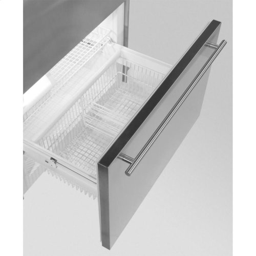 "Professional Built-In 36"" Bottom Freezer Refrigerator - Panel-Ready Solid Overlay Door - Left Hinge*"