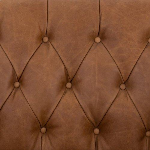 "Williams Leather Sofa-75""-nat Wash Camel"