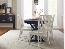 Slat Back Side Chair - Sea Salt