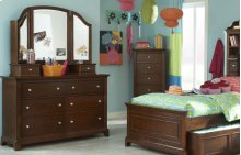 Impressions Dresser with Vanity Mirror