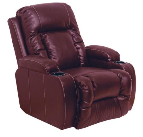 Power Recliner - Red