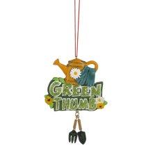 """""""Green Thumb"""" Gardening Ornament."""
