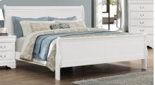 Bianco White LP 6 Drawer Dresser