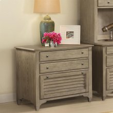 Myra - Lateral File Cabinet - Natural Finish