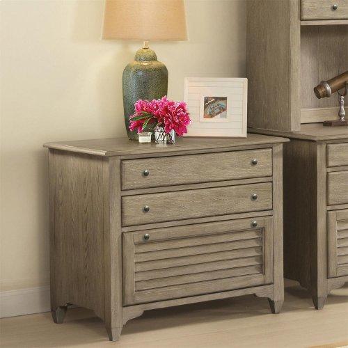 Myra - Lateral File Cabinet - Natural Finish