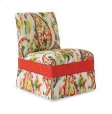 Traditional Armless Chair
