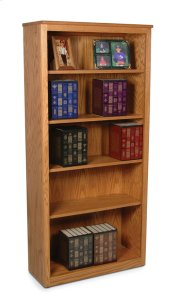 Classic Office Open Bookcase #10 Product Image