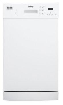 "Danby 18"""" White Built-In Dishwasher"