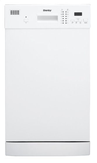 "Danby 18"" White Dishwasher"