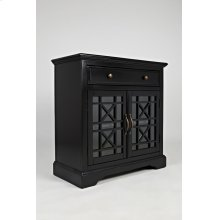 Craftsman Antique Black Accent Chest