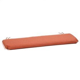 5' Bench Cushion - Dupione Papaya