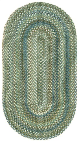 American Legacy Pine Forest Braided Rugs (Custom)