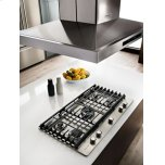 "30"" 5-Burner Gas Cooktop - Stainless Steel"