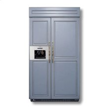 """48"""" Custom Panel Side-by-Side with External Ice Dispenser"""