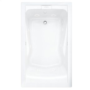 Evolution 60x36 Inch Deep Soak EverClean Air Bath - White
