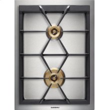 "Vario 400 Series Gas Cooktop Stainless Steel Width 15"" (38 Cm) Natural Gas. for Conversion To Lp Gas, Lp Kit (part #423414) Must Be Ordered."