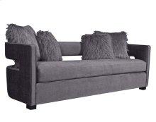 Kennedy Grey Velvet Sofa