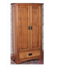 Gallatin Classic Jelly Cabinet with wood sides