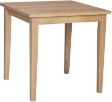 """30"""" x 30"""" Complete Table Natural"""