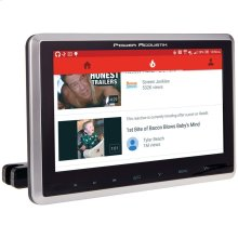 """10.3"""" Universal Headrest Monitor with DVD Player, IR & FM Transmitters & Android PhoneLink"""