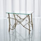 Twig End Table-Silver Leaf Product Image