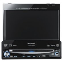 "In-Dash 7"" Widescreen Color LCD Monitor/DVD Receiver"