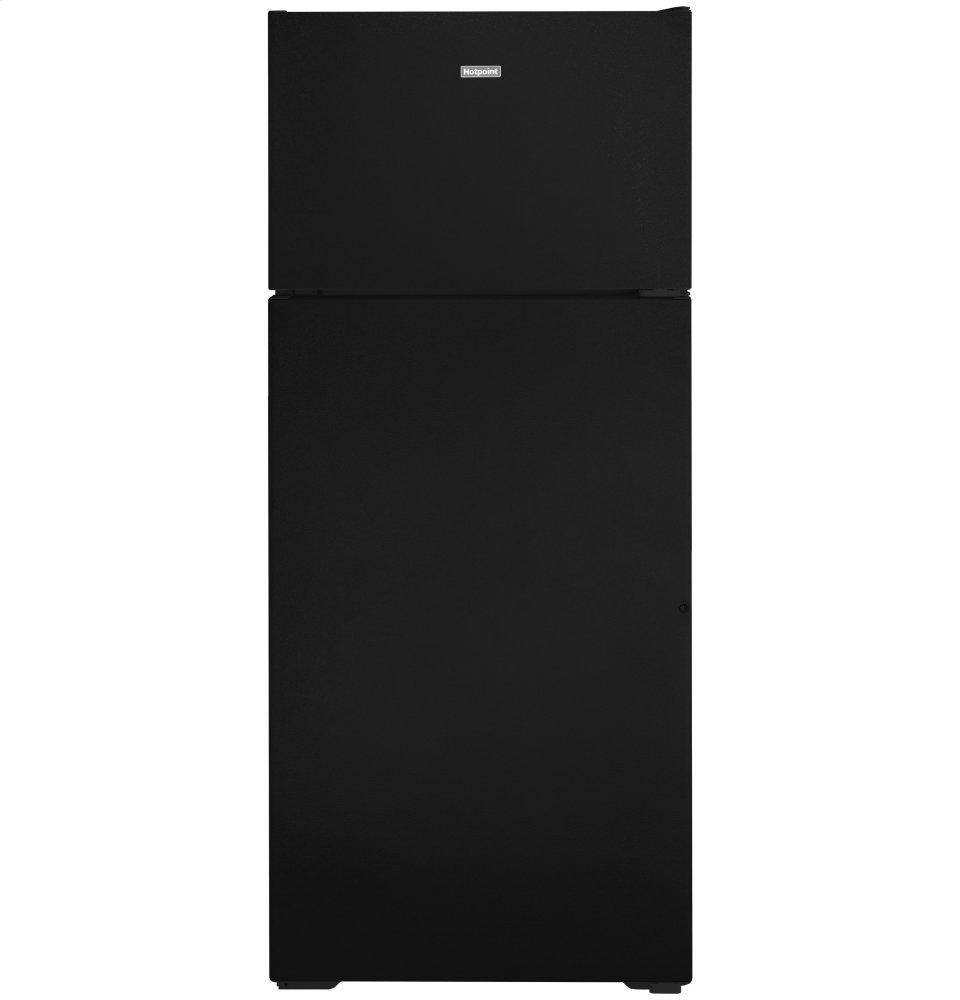 HotpointHotpoint® 17.5 Cu. Ft. Recessed Handle Top-Freezer Refrigerator