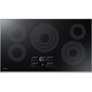 "Samsung Appliances36"" Electric Cooktop with Sync Elements"