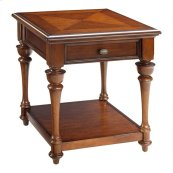 British Passages End Table