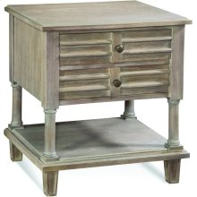 Chesapeake Two Drawer Nightstand