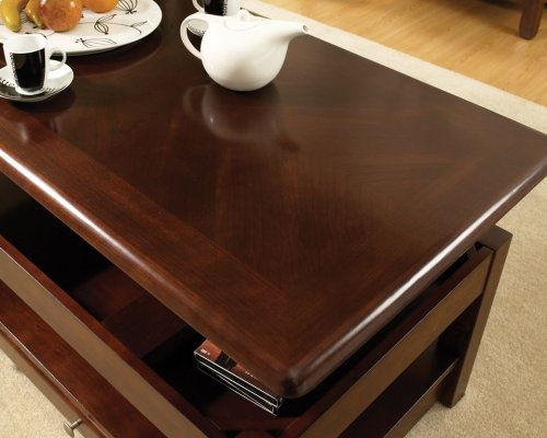 """Nelson End Table, Cherry, 22""""x24""""x22"""""""