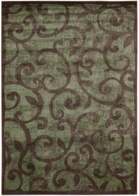 EXPRESSIONS XP02 BRN RECTANGLE RUG 5'3'' x 7'5''
