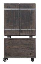 Emerald Home Dakota Bar Cart and Cabinet Reclaimed Pine D570-50 Product Image