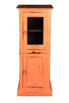Sunset Trading Cottage Glass Door Storage Cabinet